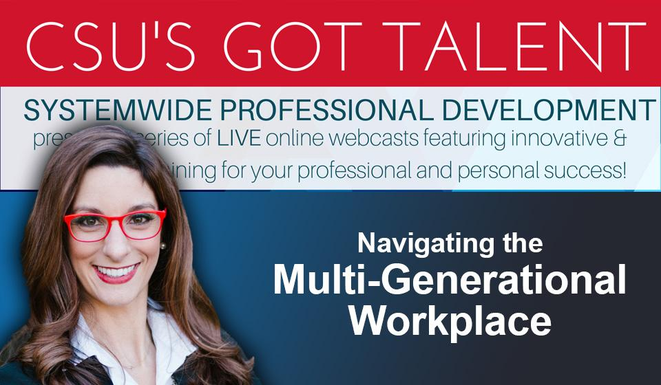 Navigating the Multi-Generational Workplace
