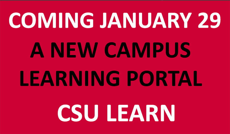 CSULearn Banner