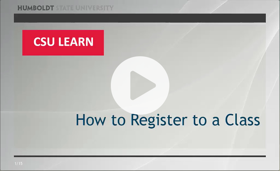 Learn how to enroll in a course session