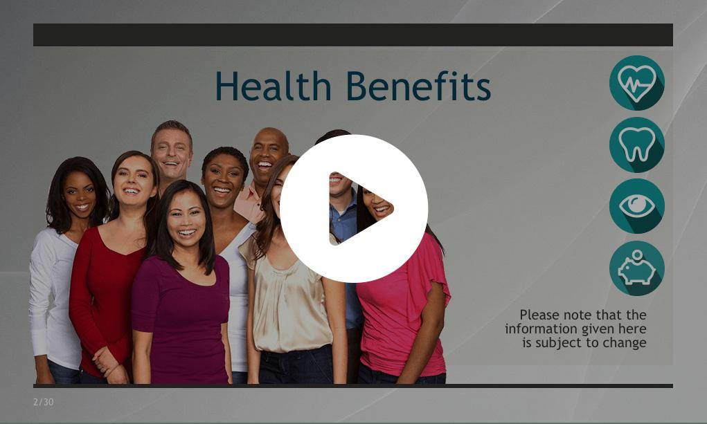 Health Benefits Video