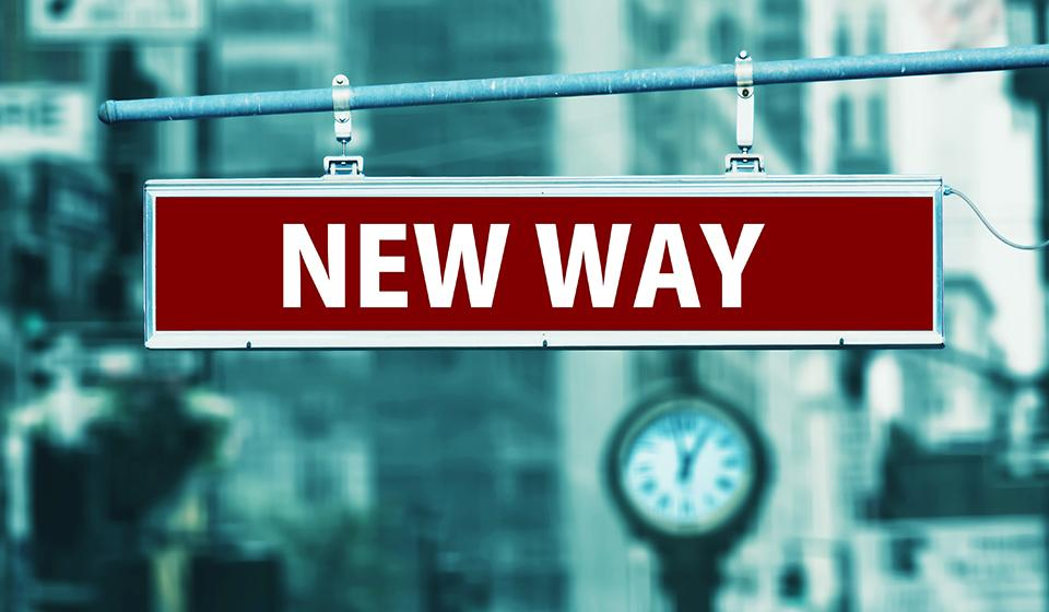 New Way Sign Picture