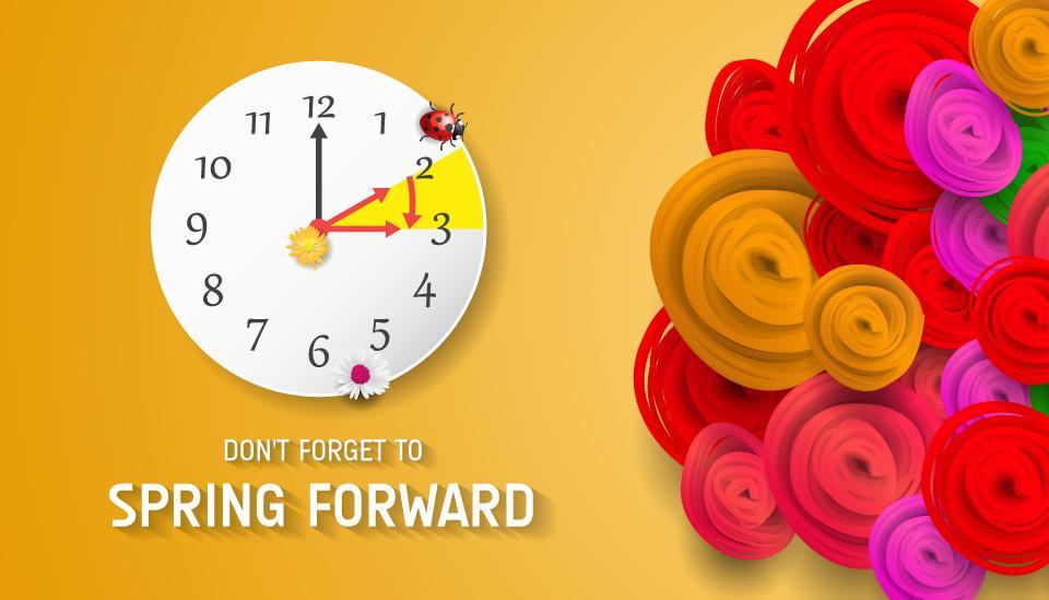 Daylight Savings - Spring Forward