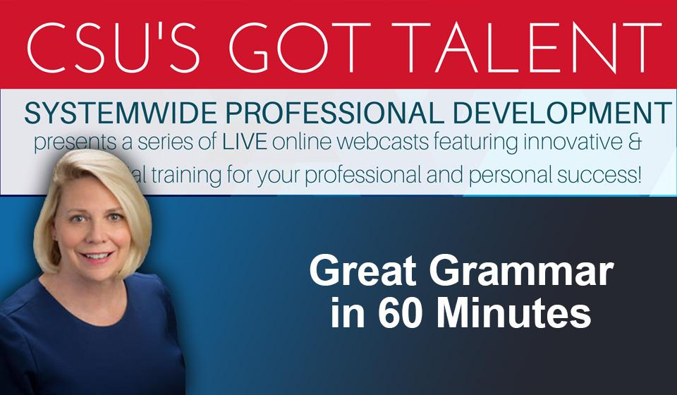 Great Grammar in 60 Minutes