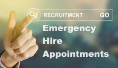 Emergency Hire Appointments