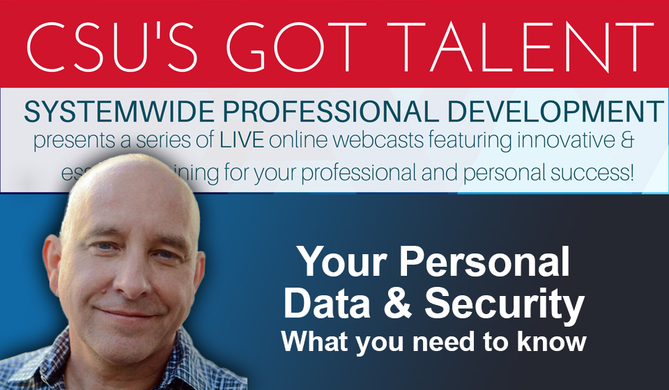 Your Personal Data & Security