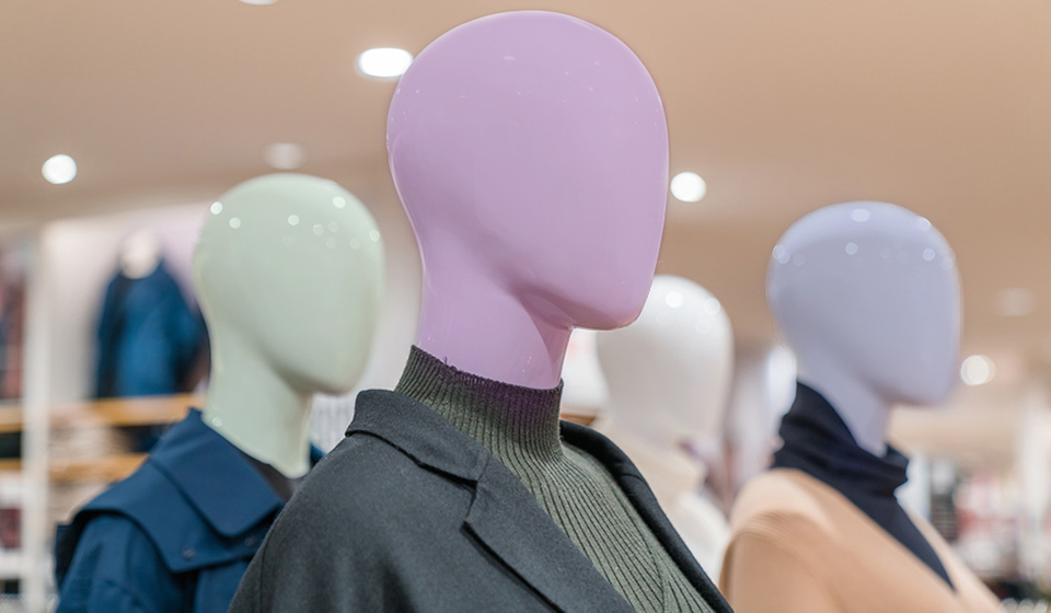 Color Mannequins
